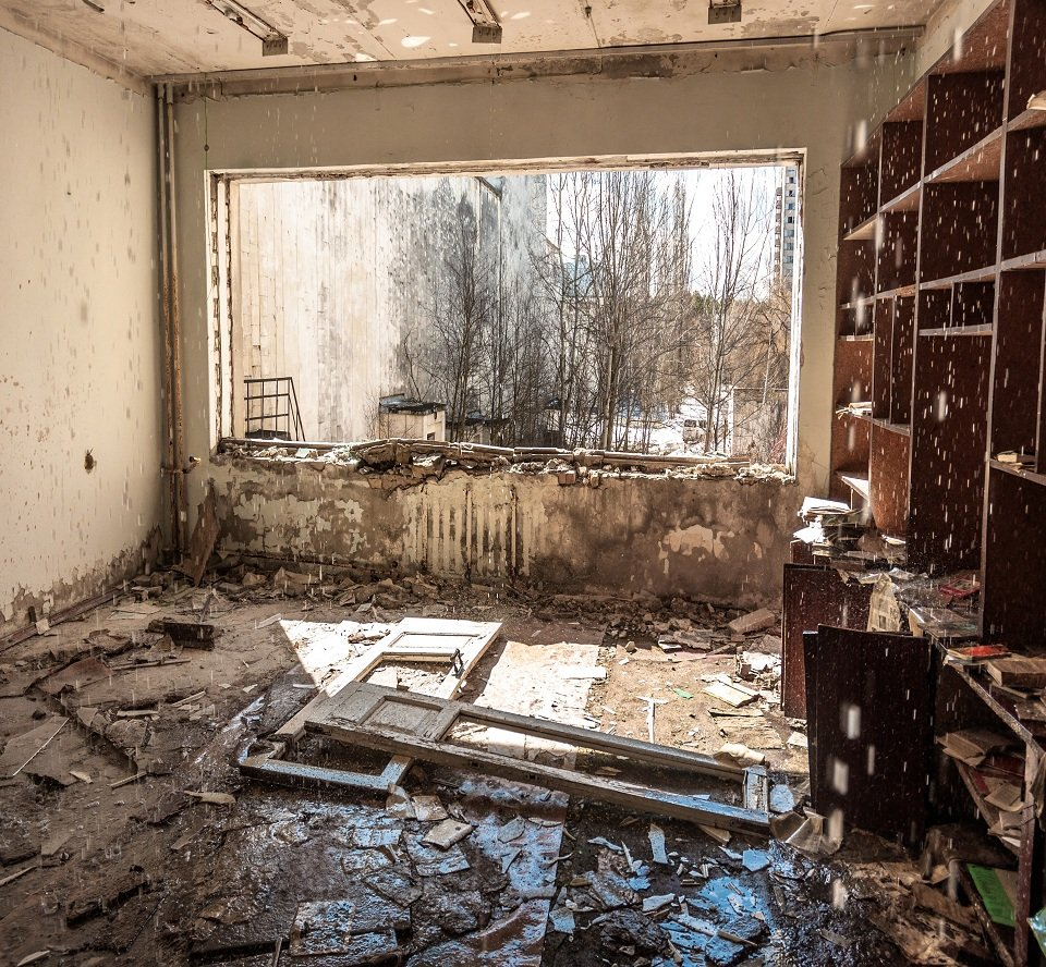 Cleanup of water damage
